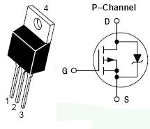 MTP50P03HDL, Power MOSFET 50 Amps, 30 Volts, Logic Level P?Channel TO?220